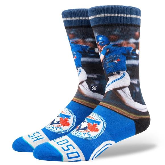 42073334447e Stance Underwear & Socks   Nwt Josh Donaldson Blue Jays Socks L ...